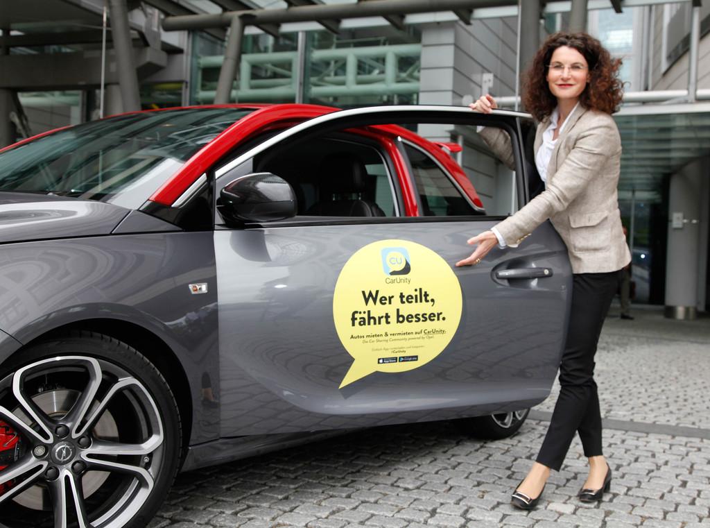 """Opel """"Car Unity"""": Das eigene Auto vermieten – Traumwagen mieten"""