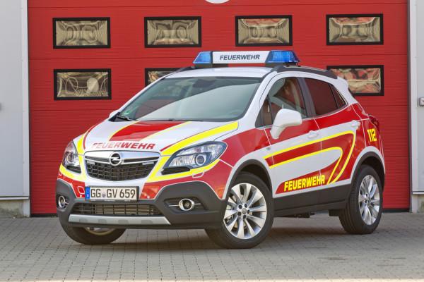Opel auf der Interschutz