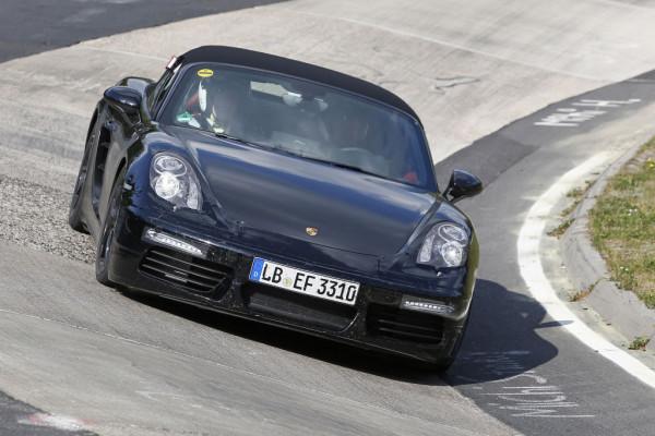 Erwischt: Erlkönig Porsche Boxster Facelift