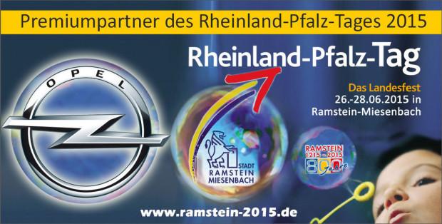 Opel ist Premiumpartner beim Rheinland-Pfalz-Tag