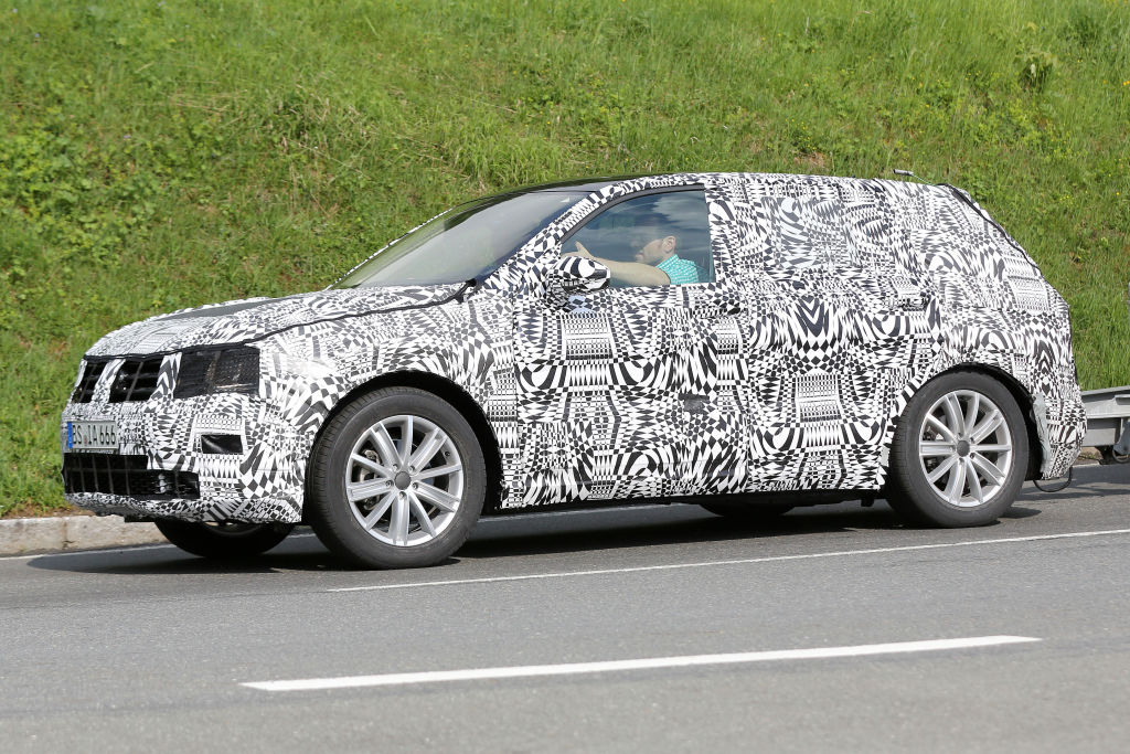 Erwischt: Erlkönig VW Tiguan