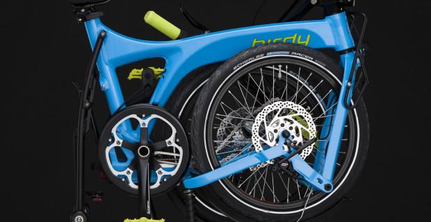 Birdy: Dieses Fahrrad schlägt Falten