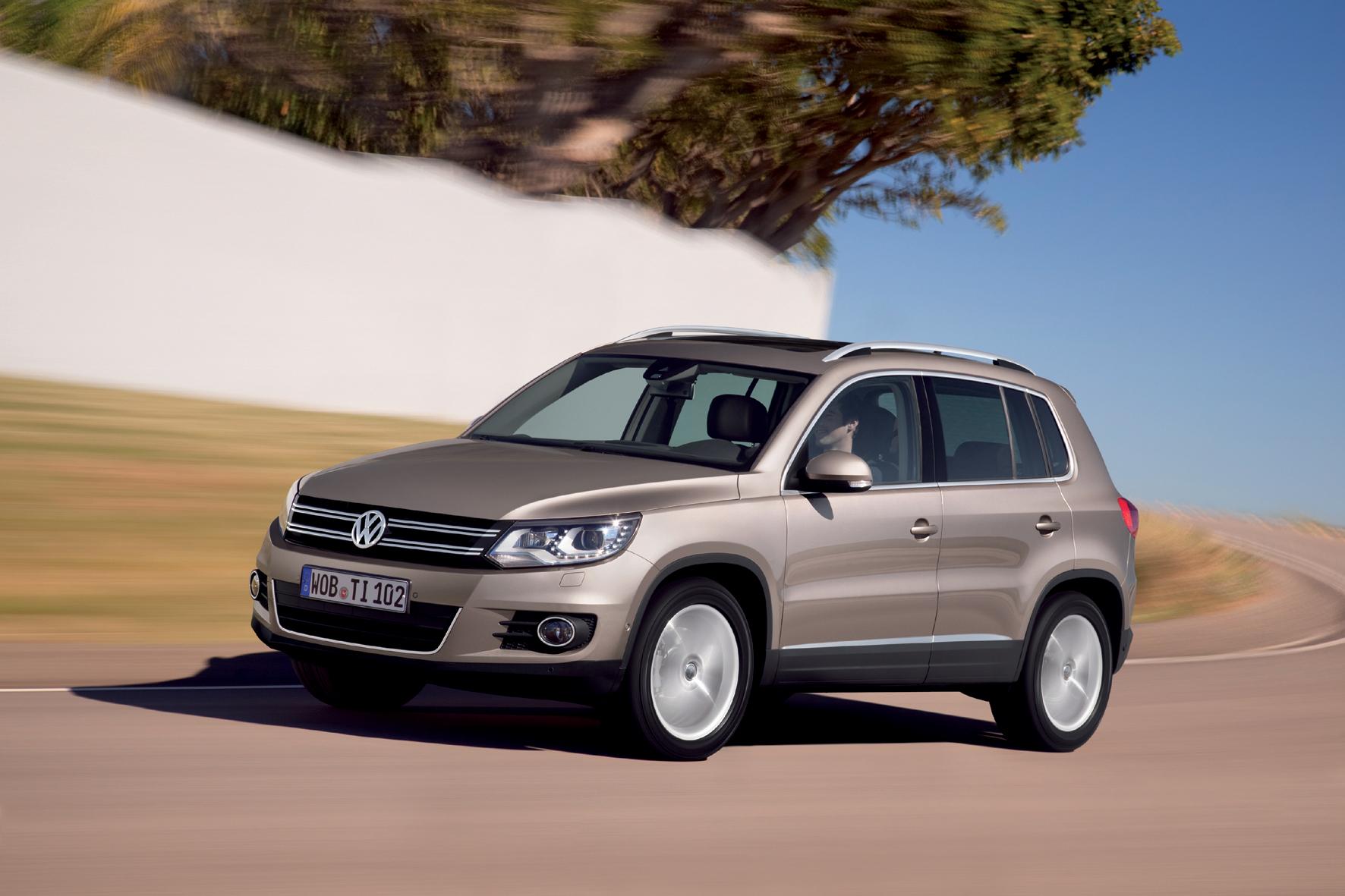 VW Tiguan: Rückruf wegen falschem Aufkleber