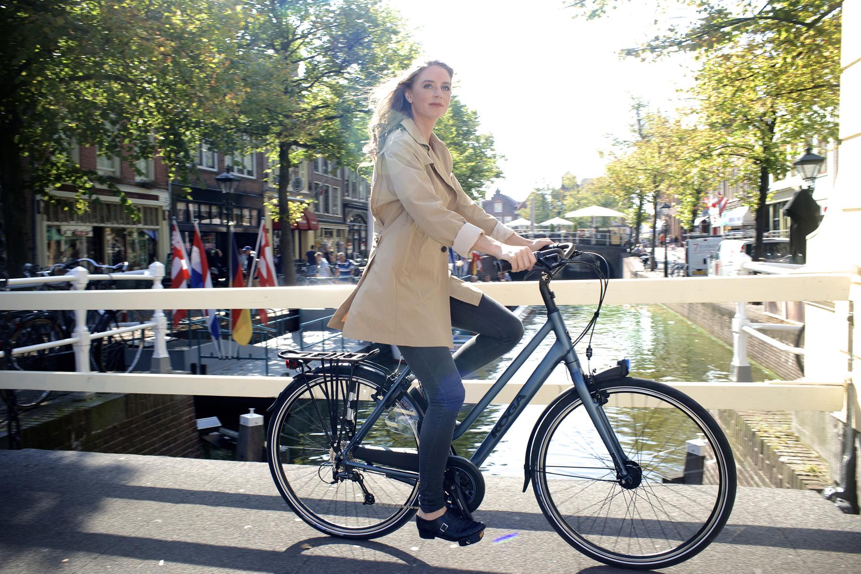 Fahrrad-Trend: Frauen mögen's bequem