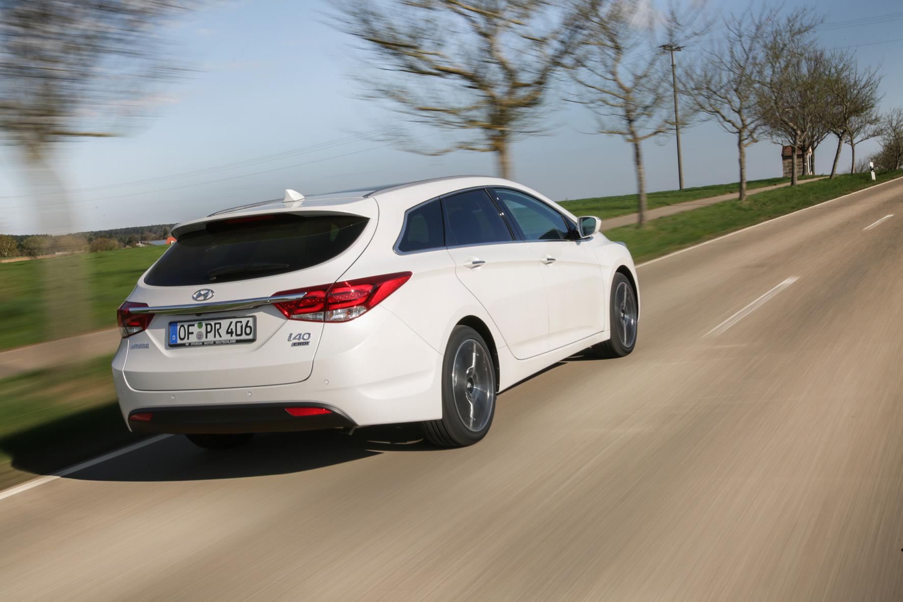 Hyundai i40 Kombi ab 24.790 Euro zu haben