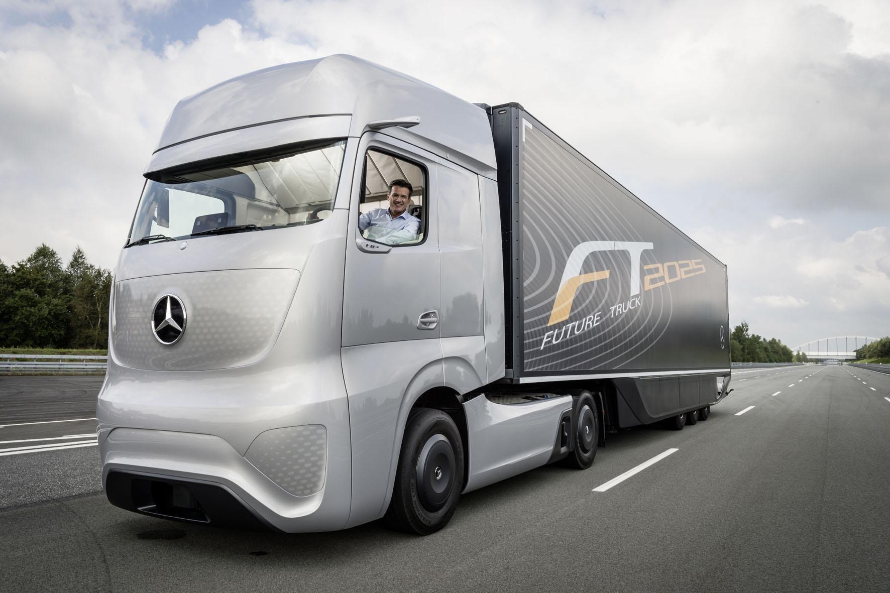 Lastwagen der Zukunft: Wohin geht die Reise?