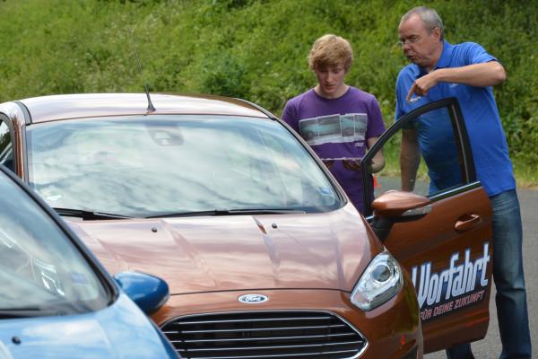 Ford-Fahrtraining für Führerschein-Neulinge