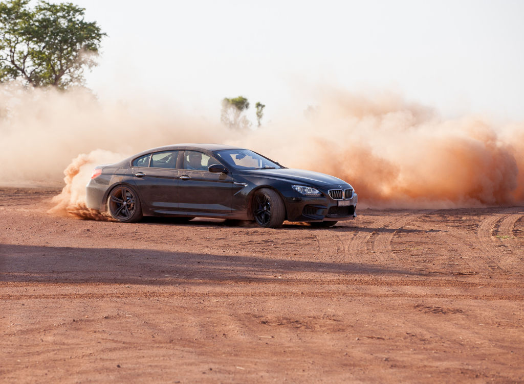 Picture Shows: Jeremy Clarkson driving the BMW M6 Gran Coupe