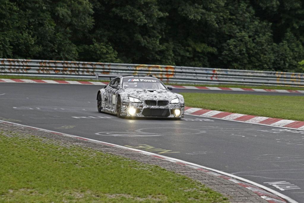 BMW M6 GT3 auf dem Nürburgring