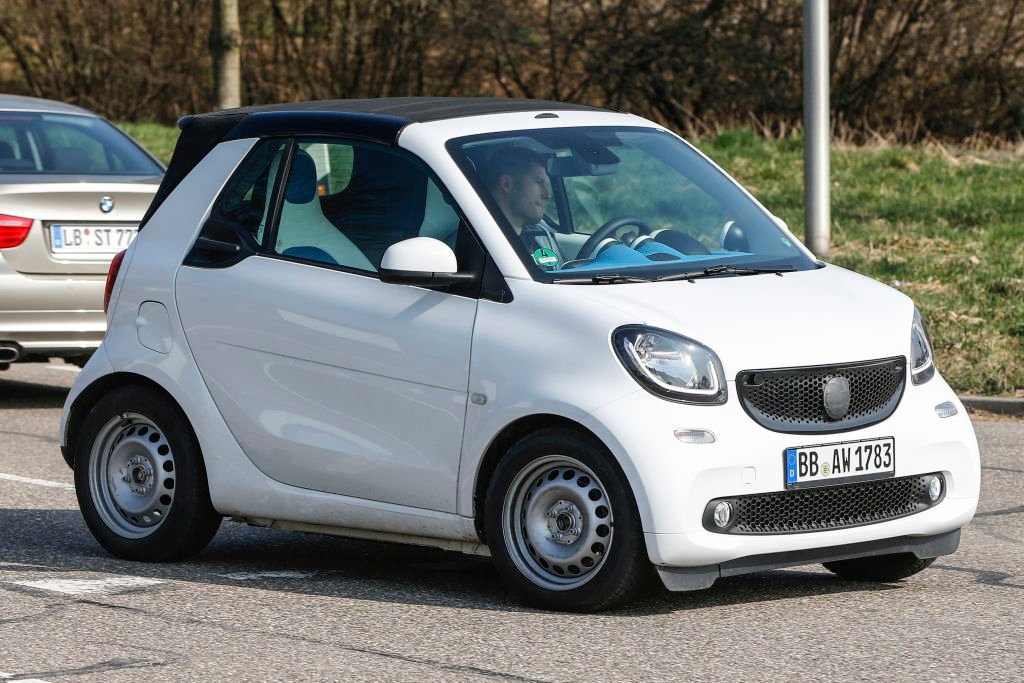 Mit dem kleinen Zweisitzer Cabrio ist nicht vor ....