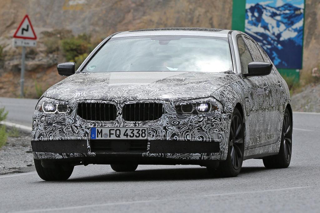 Enstsprechend nah wird er dem Design des BMW 7er kommen und....