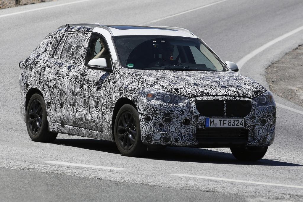 ... ein Modell aus dem XCITE- Project von BMW. Der Frontantrieb ergibt sich aus der UKL-Plattform (MINI, 2-Serie)
