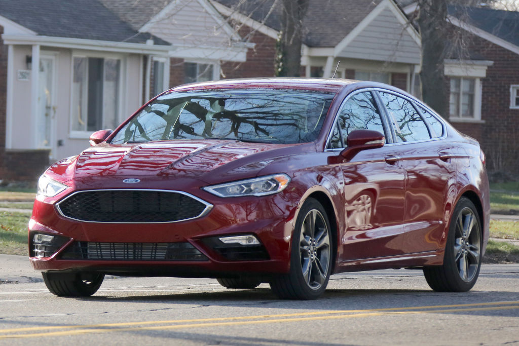 Der 2017er Ford Mondeo ungetarnt.