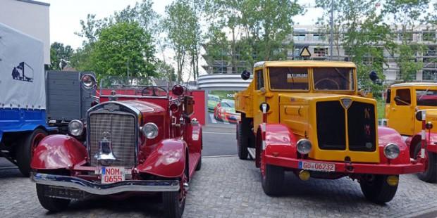 Die Übergabe aller Fahrzeuge findet etappenweise statt. Im September wird der Korso den Weg von Sittensen nach Einbeck antreten.