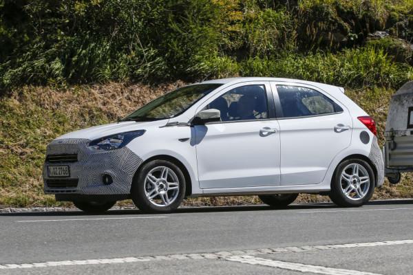 ... wertigeren Anmutung, wird der Ka 2016 im Kleinwagensegment gegen Opel Adam und Co. antreten.