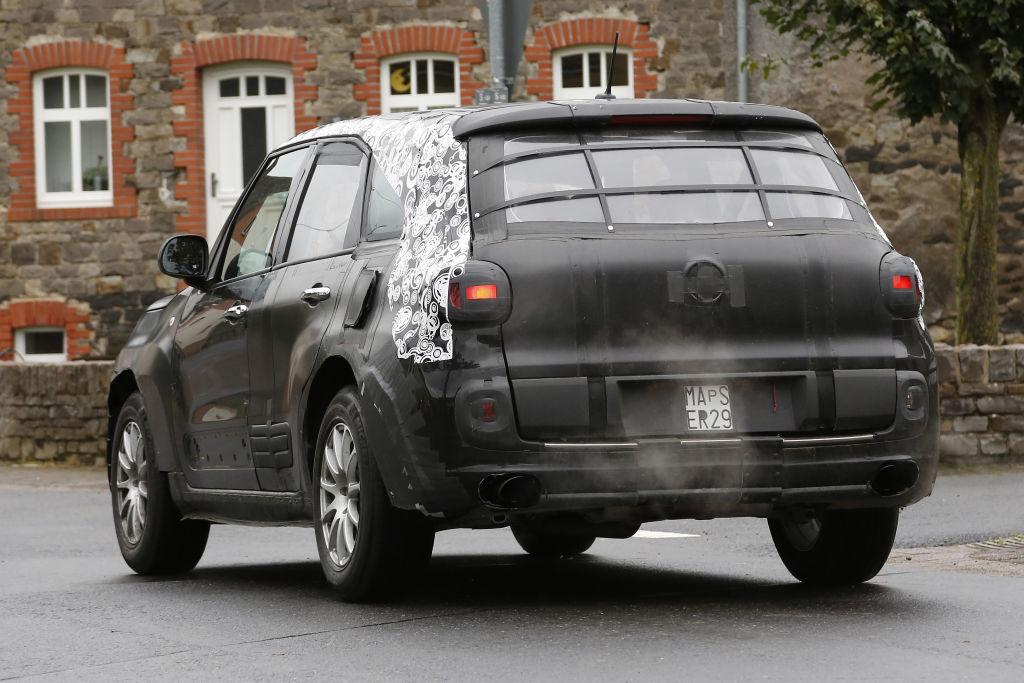 Erlkönig Alfa Romeo SUV