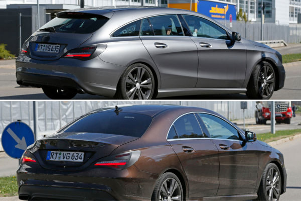 Facelift Mercedes-Benz CLA und CLA Shooting Brake