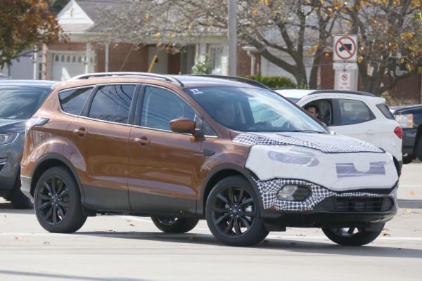 Ford Kuga Facelift