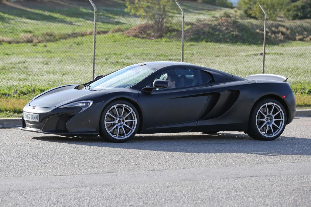 Erlkönig McLaren 657LT Spider
