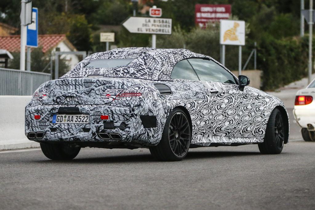 Mercedes-AMG C63 Cabrio