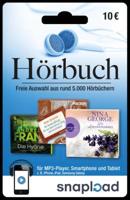Snapload Hörbuch-Gutschein