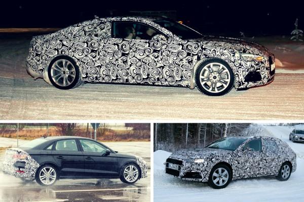 Erlkönige von Audi
