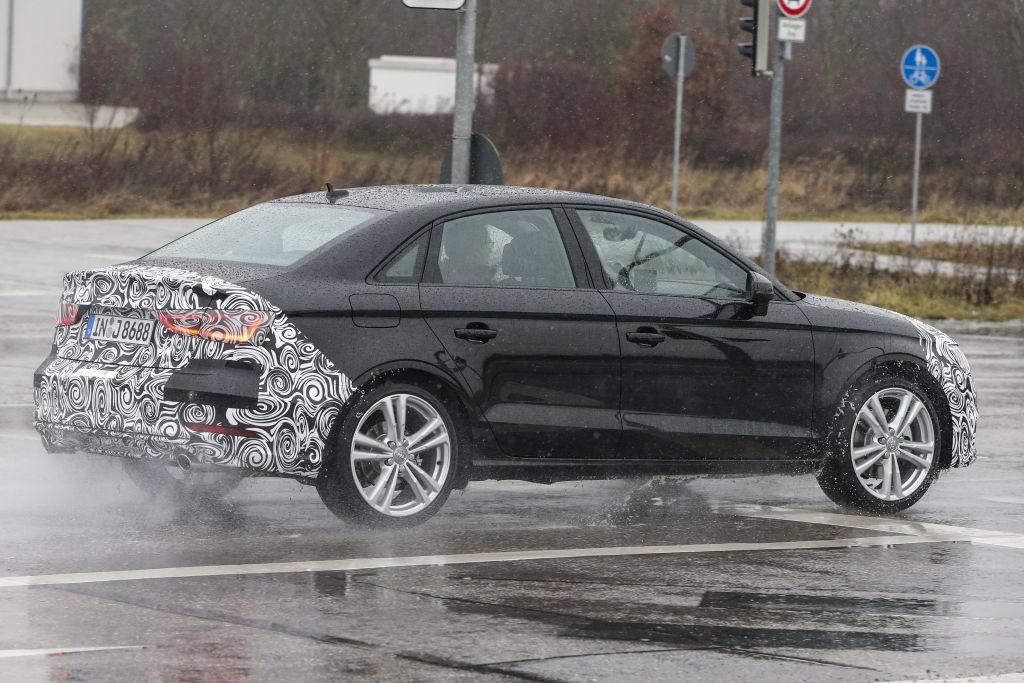 Erlkönig Audi A3 Sedan Facelift