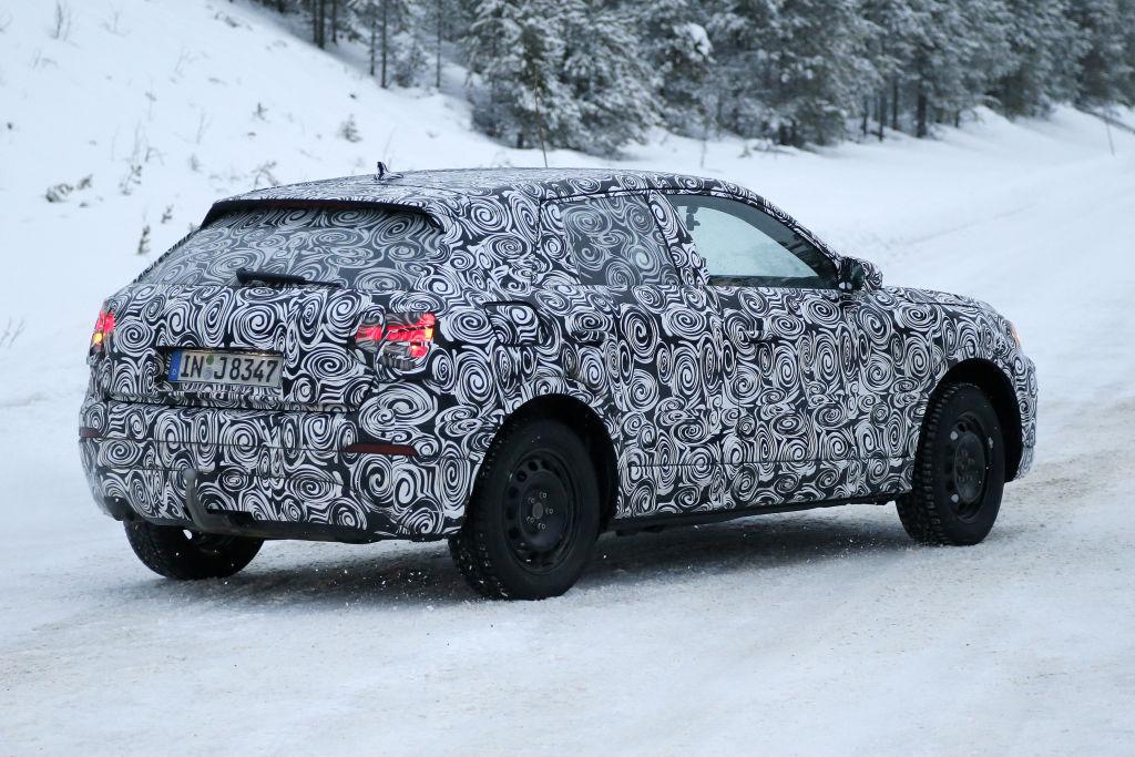 Erlkönig Audi Q2