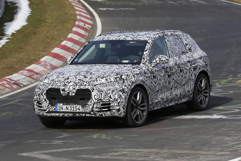 Erlkönig Audi Q5 2017er Modell ( Aufnahmen vom 15.03.2016)
