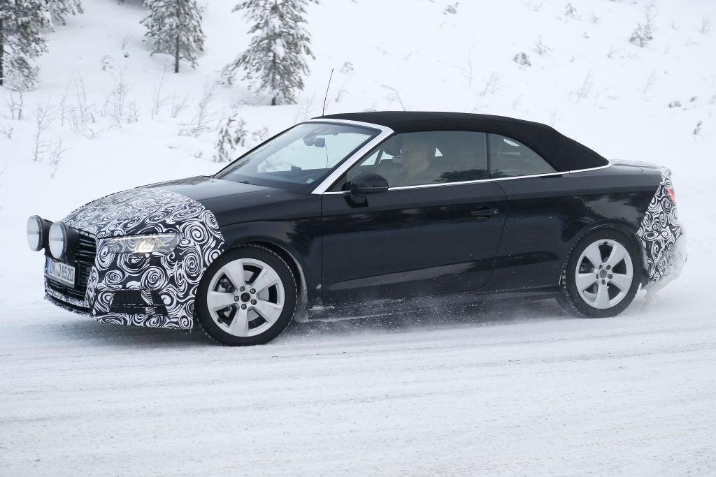 Erlkönig Audi A3 Cabrio Facelift