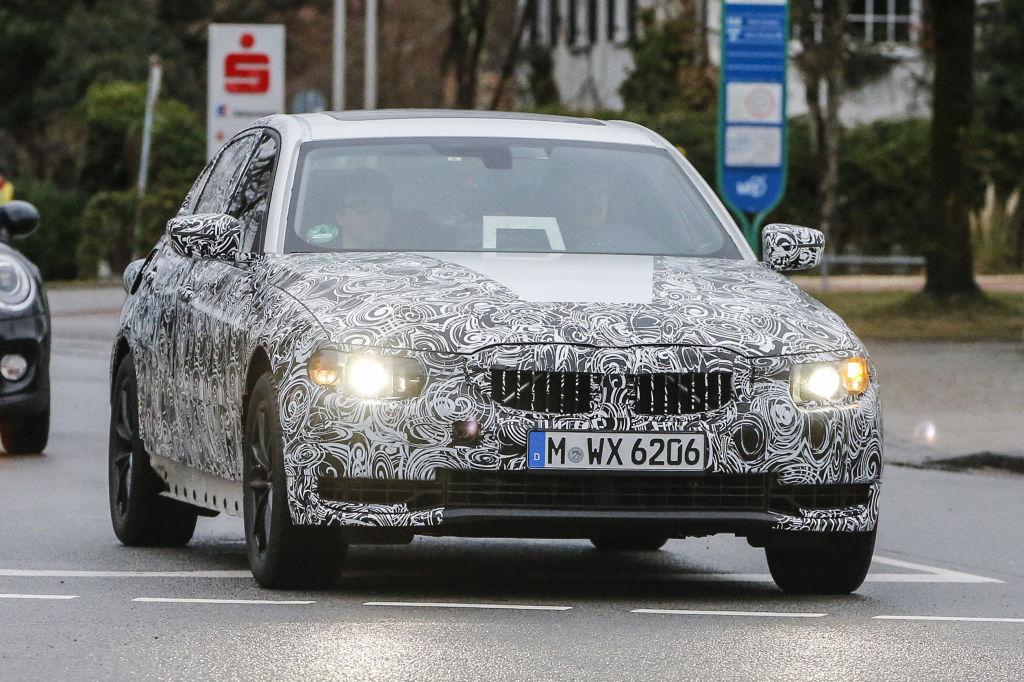 Erlkönig BMW 3er Reihe