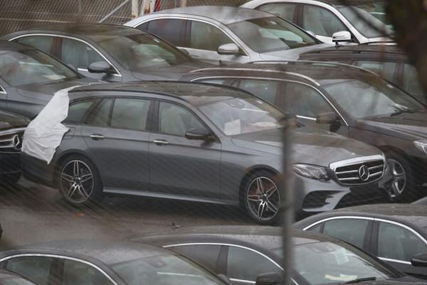 Erlkönig Mercedes-Benz E-Klasse T-Modell
