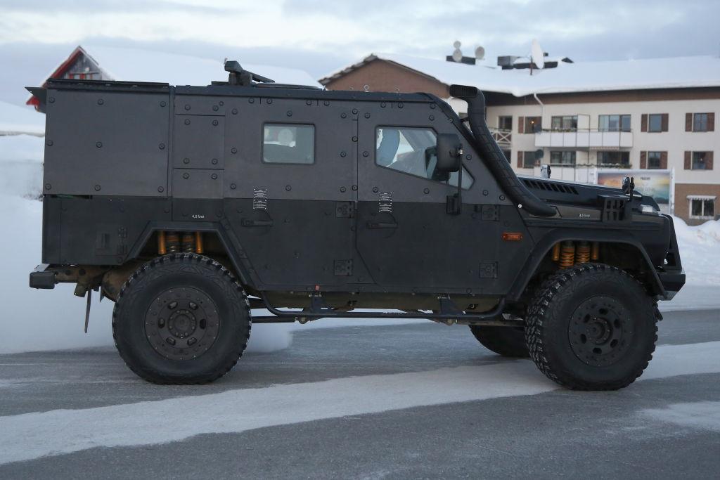 Mercedes-Benz G-Modell LAPV