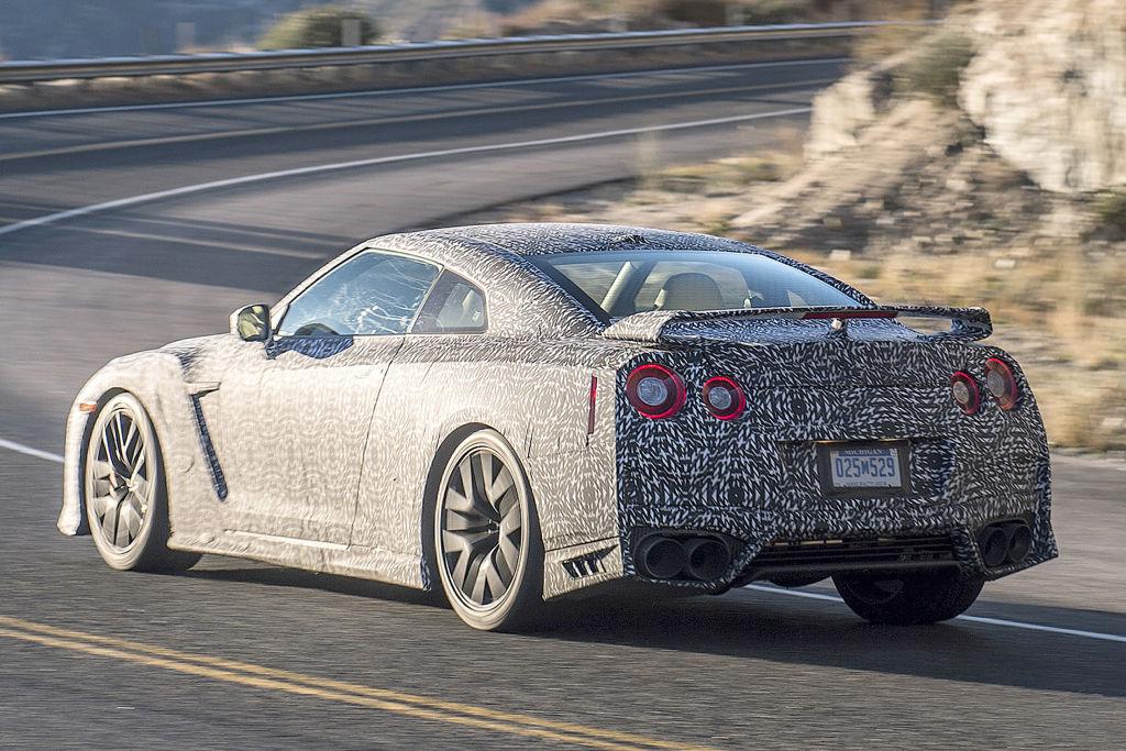 Erlkönig Nissan GT-R Facelift 2016