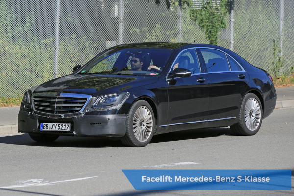 Facelift Mercedes-Benz S-Klasse
