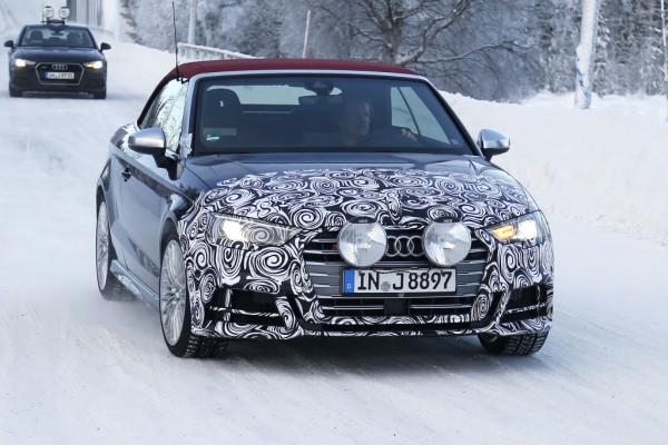 Erlkönig Audi S3 Cabrio
