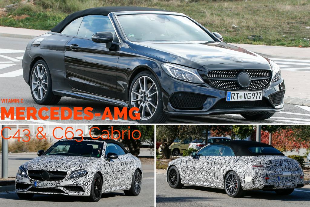 Mercedes-AMG C43 und C63 Cabrio