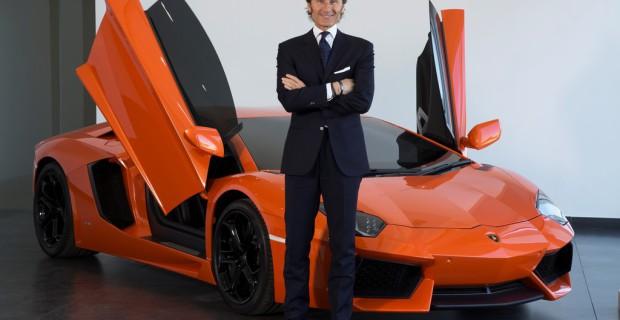 Lamborghini-Boss Stephan Winkelmann.