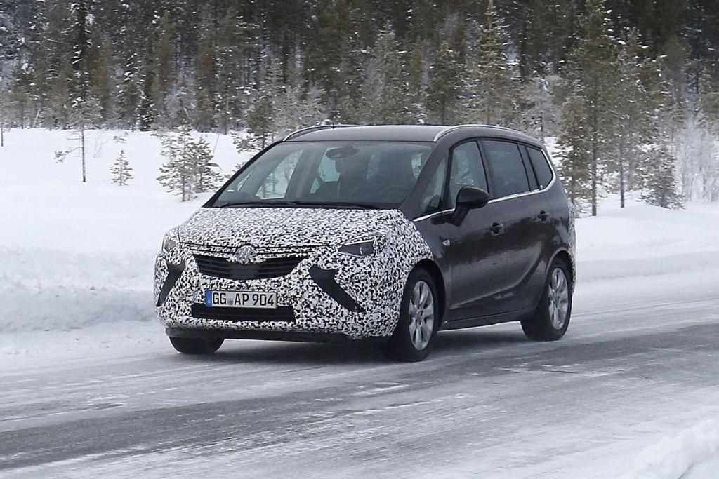 Opel Zafira Facelift 2016