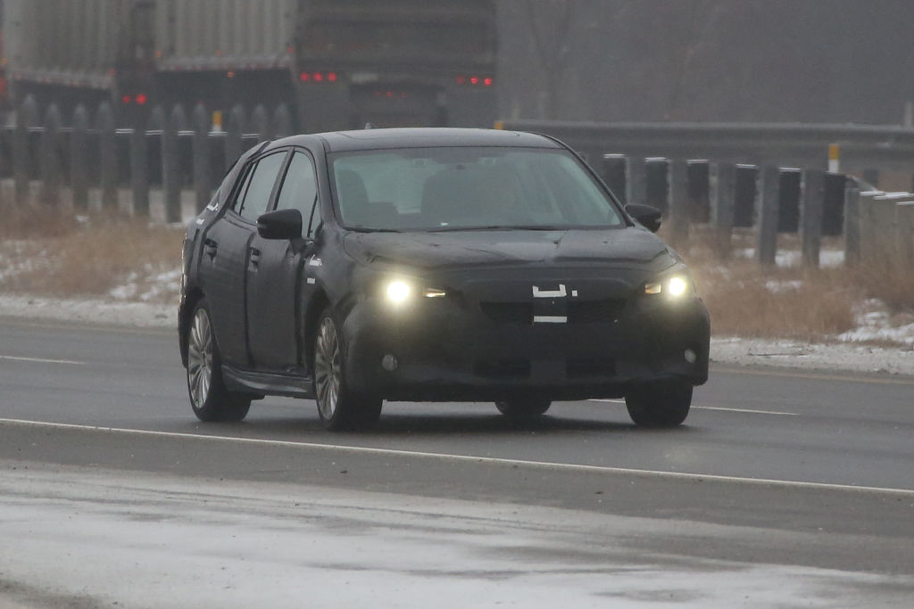 Erlkönig Subaru Impreza Hatchback 2017