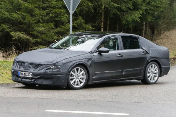 VW C Coupe GTE Erlkönig: Der neue Phaeton 2019