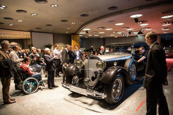 Das Mercede-Benz-Museum wird am 19. März 2016 wieder zum Auktionshaus: Bonhams versteigert dort automobile Schätze privater Verkäufer.
