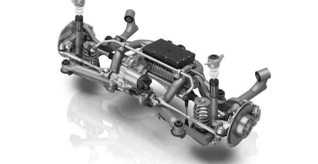 Elektrisches Achsantriebssystem von ZF.