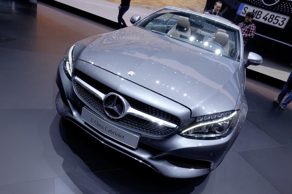 Mercedes-Benz C-Klasse Cabriolet.