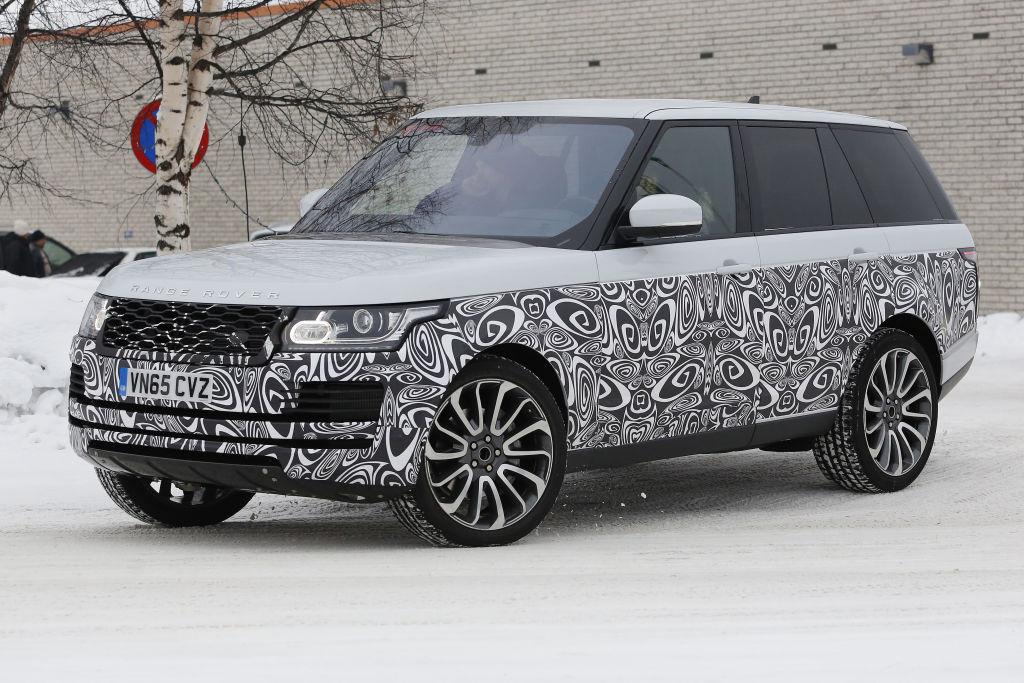 Range Rover Facelift 2017