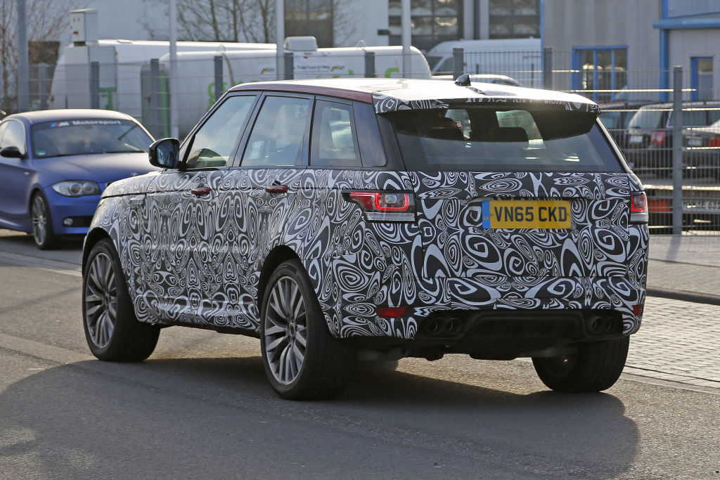 Range Rover Sport SVR-Facelift