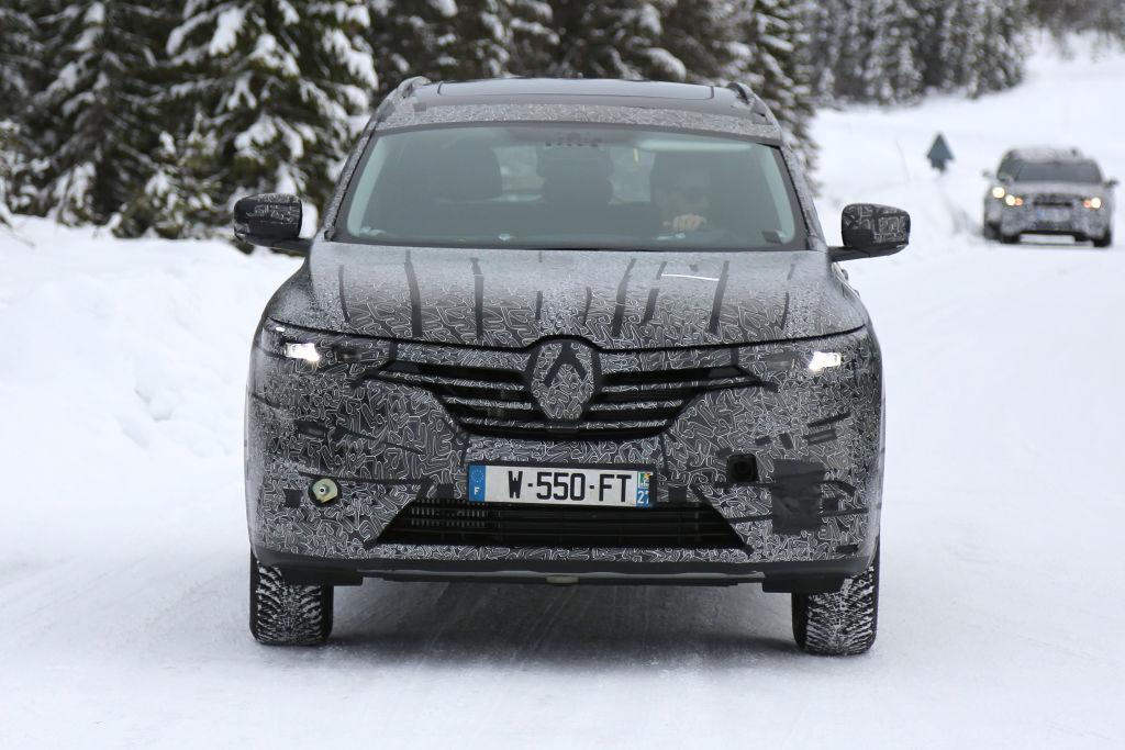 Erlkönig Renault Maxthon