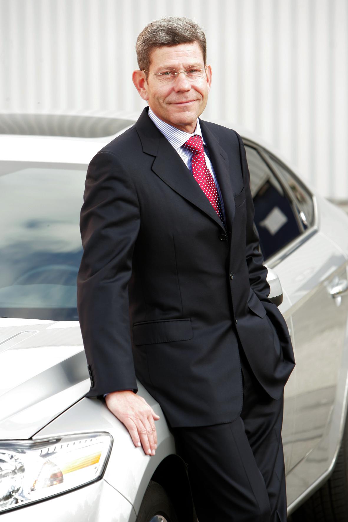 Bernhard Mattes, Vorsitzender der Geschäftsführung von Ford Deutschland, möchte die Marke