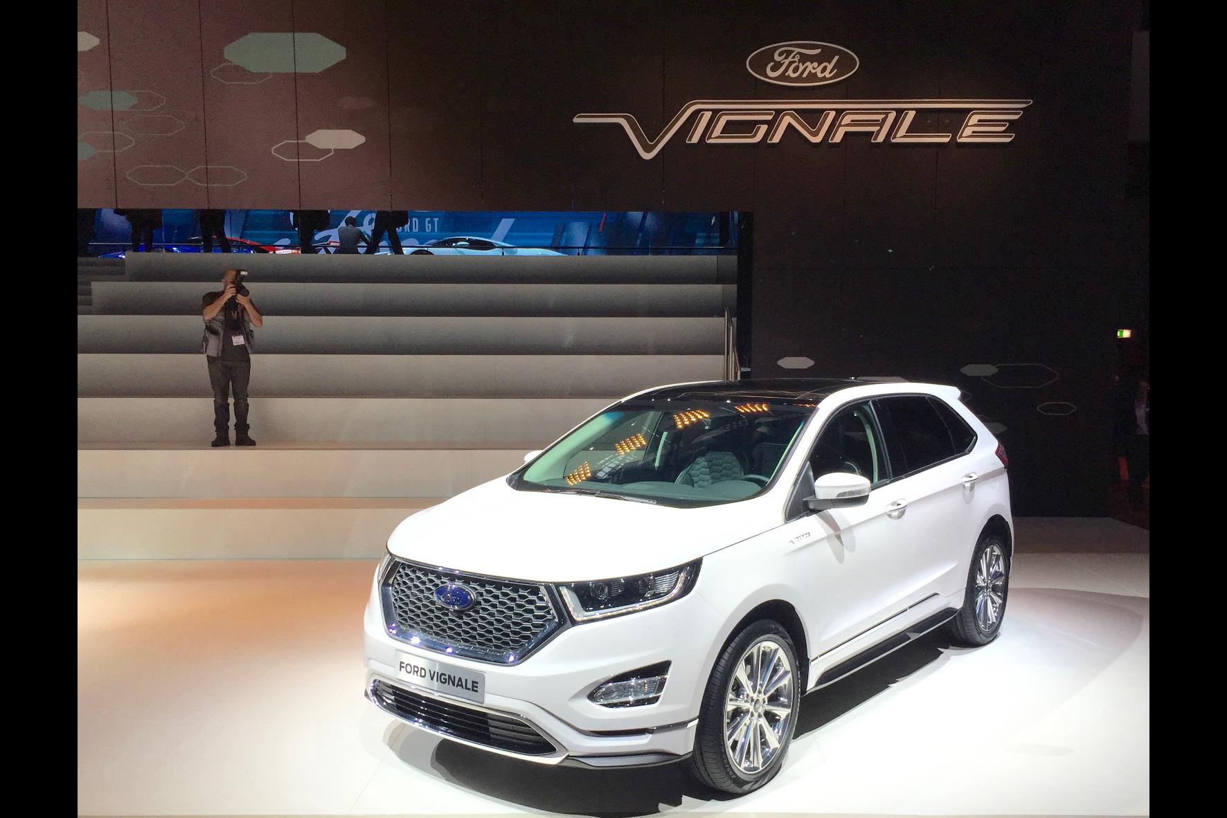 Insgesamt vier neue, besonders luxuriös ausgestattete Vignale-Modelle stellt Ford auf dem Genfer Automobilsalon 2016 vor.