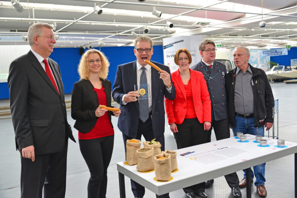Auf die Wurst gekommen: Im AutoMuseum Volkswagen dreht sich ausnahmsweise alles um die kulinarischen Kreationen der Wolfsburger.